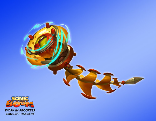 Sonic Boom: Shattered Crystal Concept Art - Gamescom