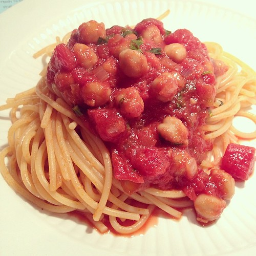 Chickpea Bolognese www.good-good-things.com