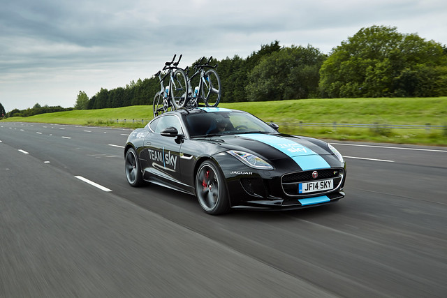 Special Vehicle Operations| F-TYPE Coupé Concept To Support Team Sky