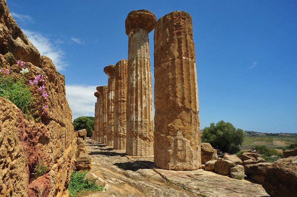 Tempio di Ercole, Valle dei Templi, Agrigento, Sicily 114