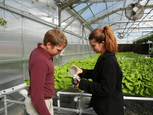 Liberty Tech High School greenhouse. Credit: Jackson-Madison County School System