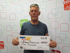 Darvin Ackerland - $1,000 Pick 3
