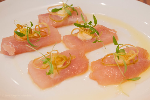 Crudo of Albacore Tuna
