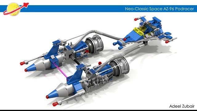 LEGO Neo-Classic Space AZ-96 Podracer