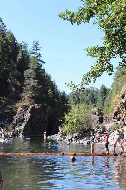 Sooke River - August 2014