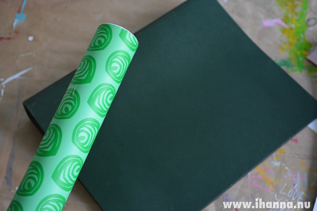 Sticky Plastic Wrapping Paper