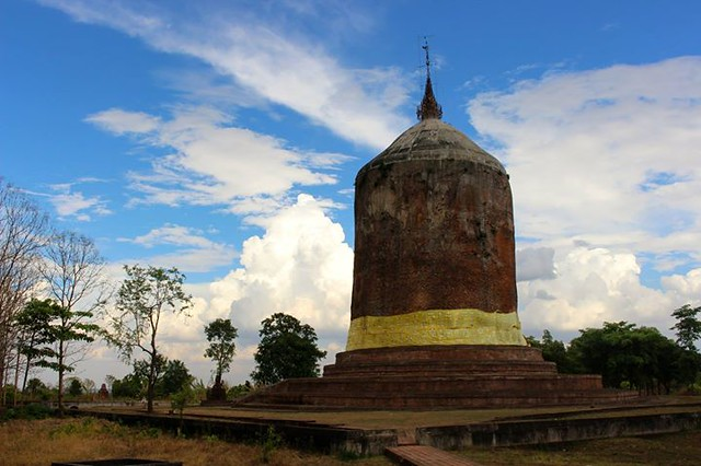Bawbawgyi Paya, of the 5th-7th century Sri Ksetra kingdom, near Pyay, Myanmar 2014