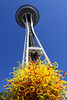 The Space Needle Ablaze
