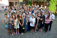 Alla deltagarna i årets Sommarmusikskola