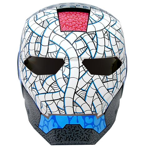 Custom Ironman Mask