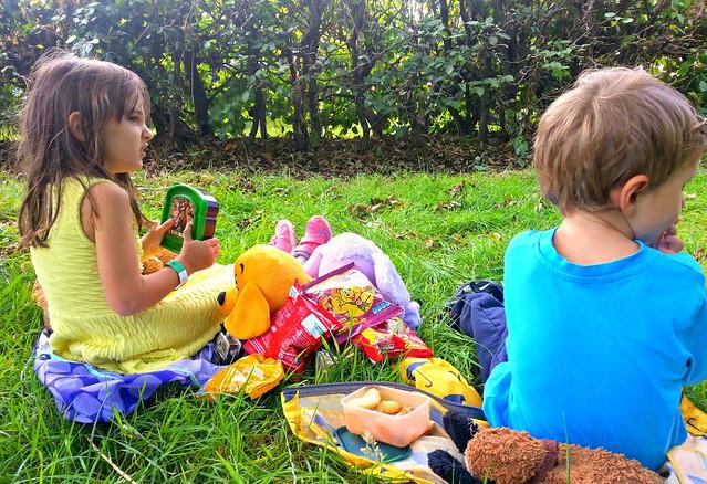 Pom Bear picnic at LolliBop 2014