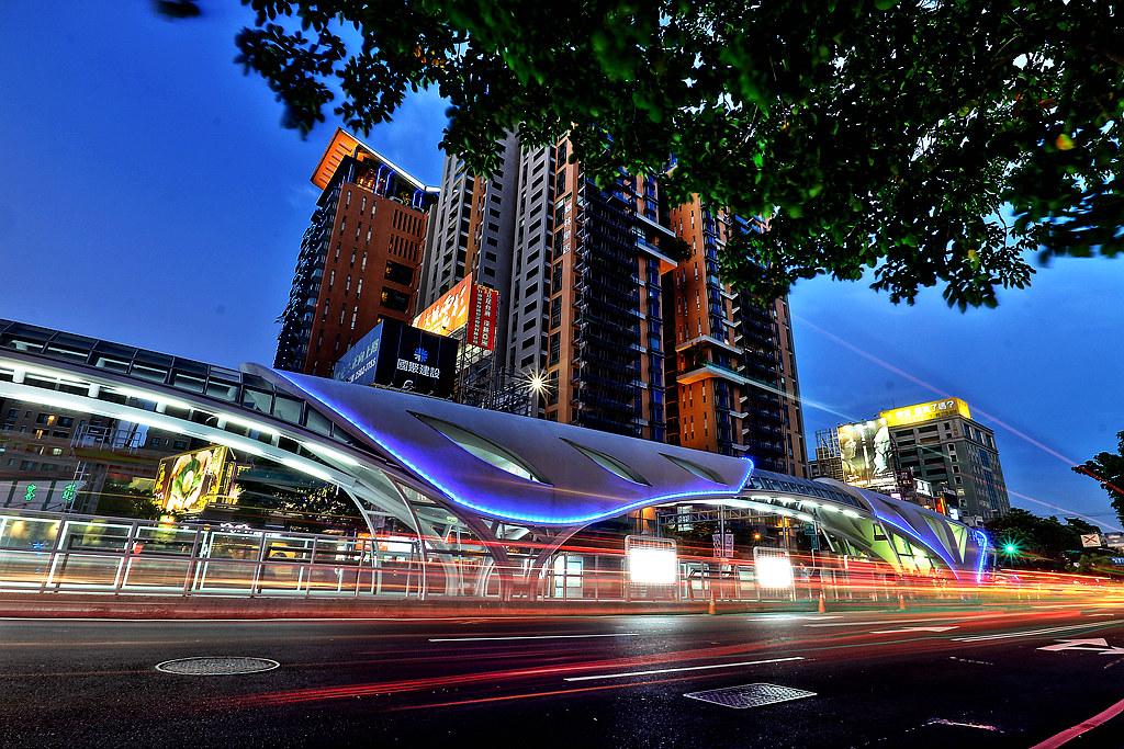 越夜越美麗,臺中BRT