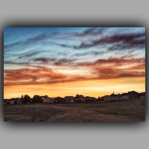 Atardecer! #sunset #masegoso #guadalajara #landscape