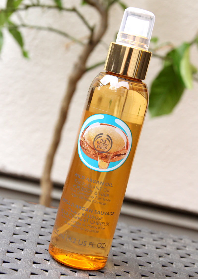 TBS wild argan oil radiant oil