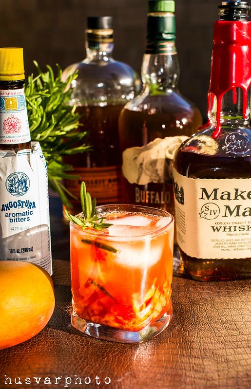 rosemary mango old fashioned in_the_know_mom #sweetnlowstars