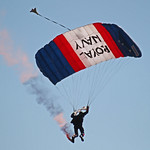 Royal Navy Raiders Parachute Display Team Eastbourne Airbourne 2011