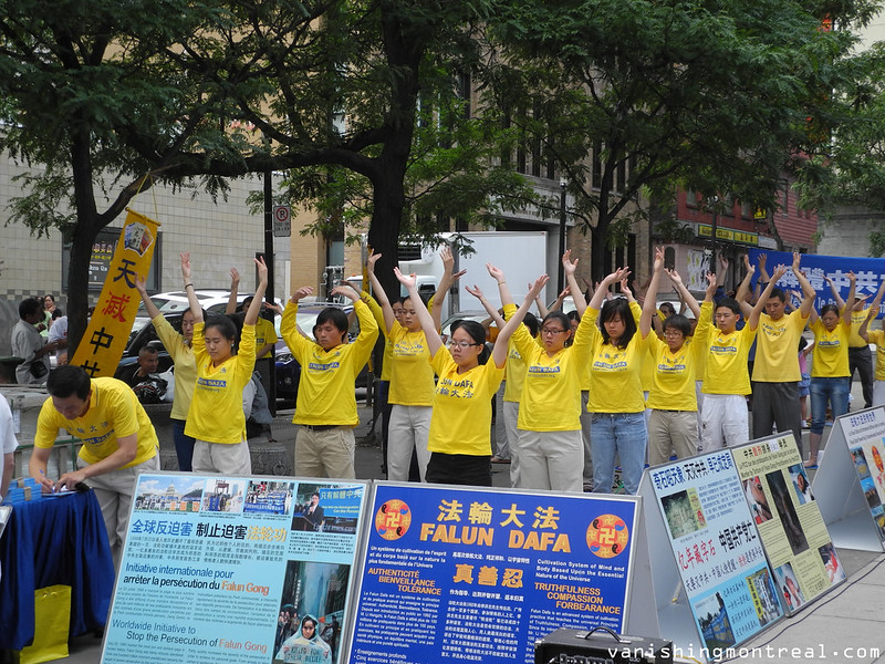 Photo of the Day : Chinatown demonstration