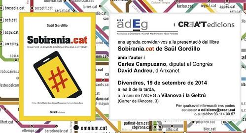 Targetó Sobirania.cat a Vilanova i la Geltrú