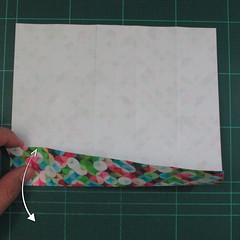 วิธีพับกล่องของขวัญแบบมีฝาปิด (Origami Present Box With Lid) 010