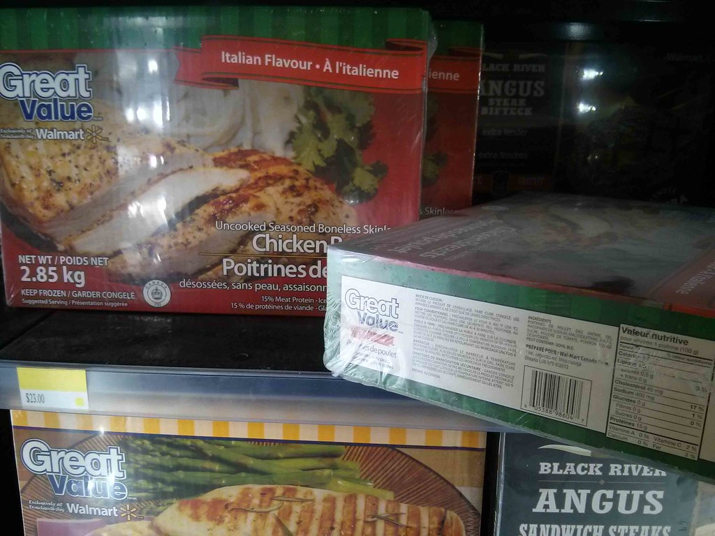 Walmart Skinless Boneless Chicken Breast
