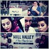 Just a #collage of pics from #secretcinema #backtothefuture a couple weeks ago #mcfly #retro #vintage #fifties #hillvalley #pinkhair