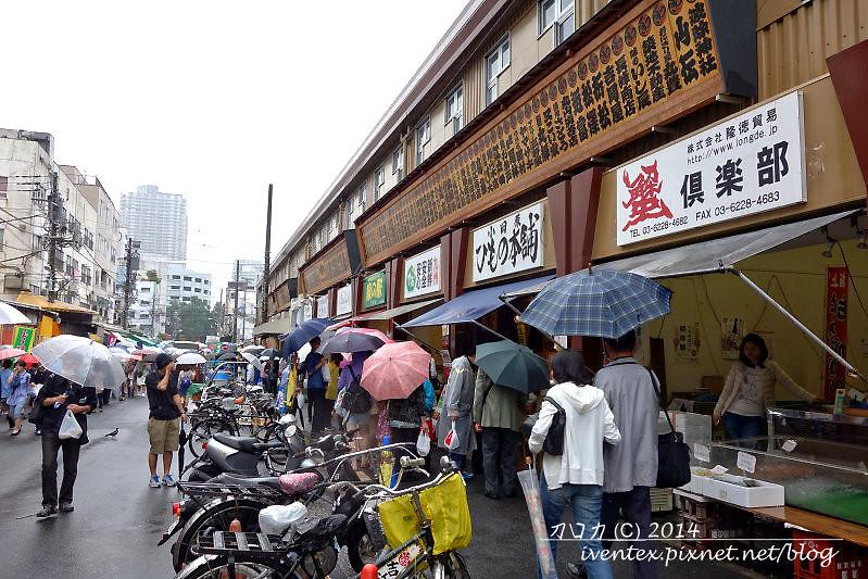 27日本東京築地市場