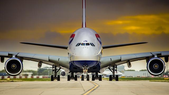 G-XLEB British Airways Airbus A380-841 London Heathrow