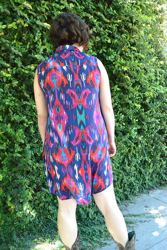 Alder Shirtdress Back