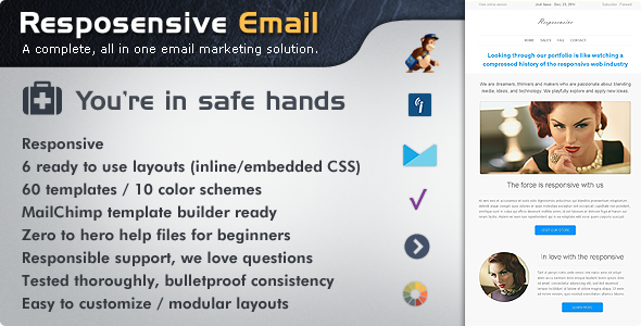 Charismatic Emailer Email Newsletter Template