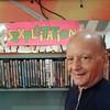 Actor Rick Poli, at Kim's Video.