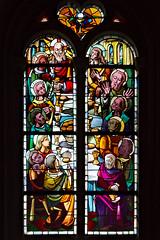 Vitrail de l'église Saint-Just