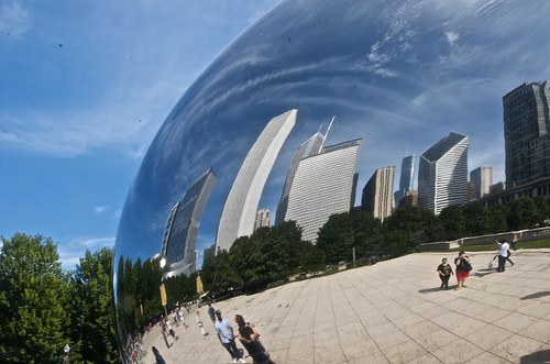 Millennium Park, The Bean, and The Loop