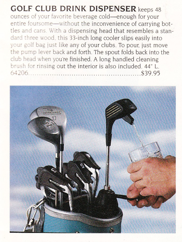 Golf Club flask