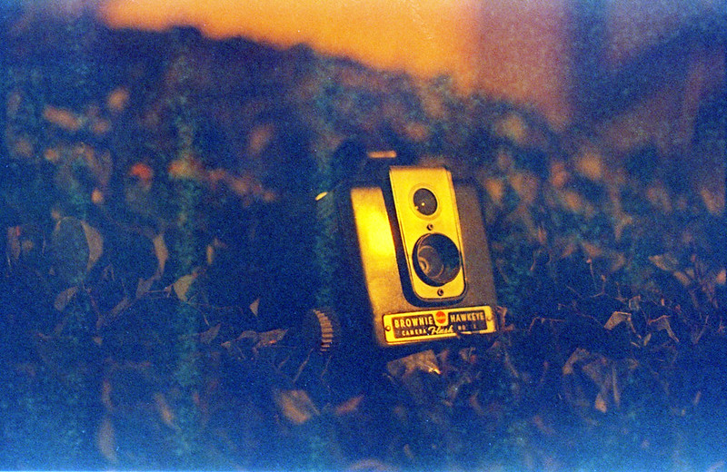 1953 Brownie Hawkeye Flash Model