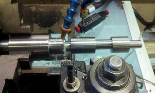 cutting camshafts