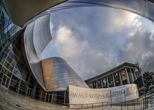 morning clouds sunrise dtla hdr waltdisneyconcerthall topaz photomatix