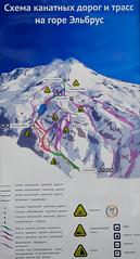 Elbrus - wyciagi i trasy narciarskie