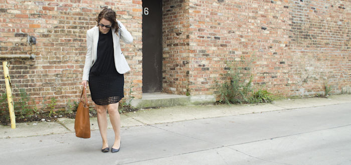 grayscale august, Y.A.S. lattice dress, asos black dress, black dress outfits, creative young professional, work outfit ideas