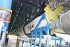 Indoor Saturn V Rockets