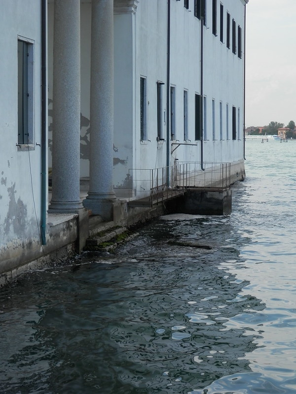 Otra entrada a San Servolo desde la barca