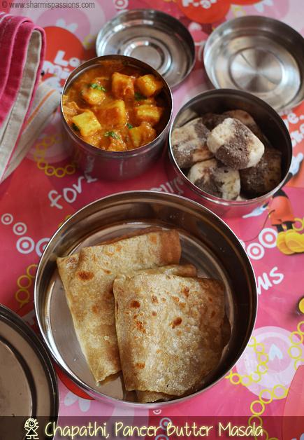 Chapathi Paneer Butter Masala