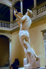 Cristoforo Stati aka Cristofano da Bracciano (1556-1619) - Orpheus (c1600) back left 2, colour and contrast adjusted