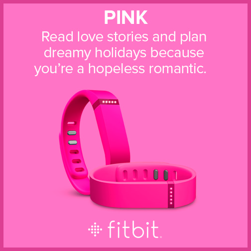Fitbit Flex - Colors - Pink