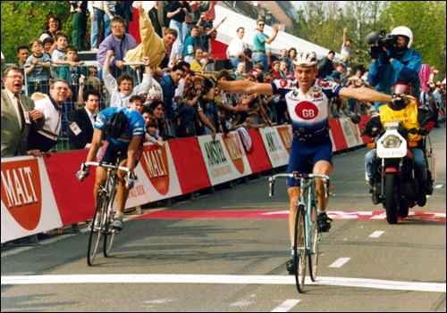 Amstel '94 - Museeuw batte Cenghialta