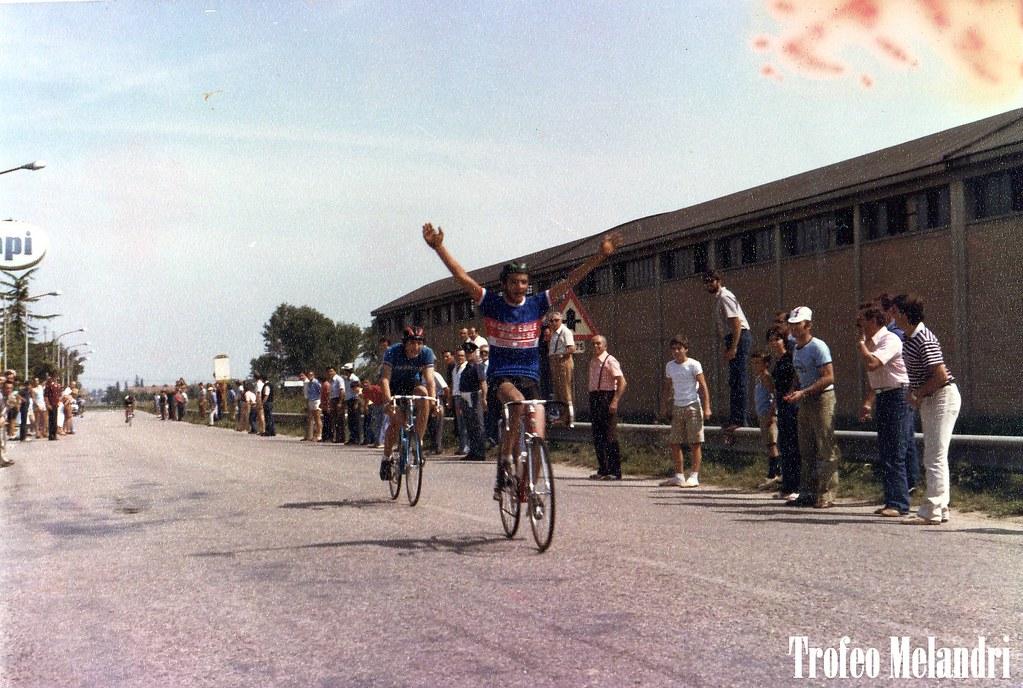 Vittoria nel Trofeo Melandri (1981)