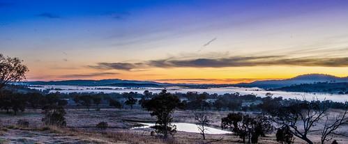 panorama sunrise landscape nikon panoramic canberra dx tuggeranong lanyon tharwa 18200mm d7000