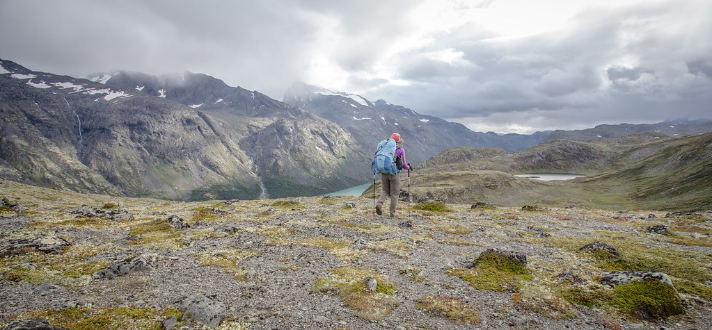 We hike because why wouldn't we? Jotunheimen NP.