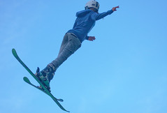 freestyle skiing, sports, extreme sport, person,