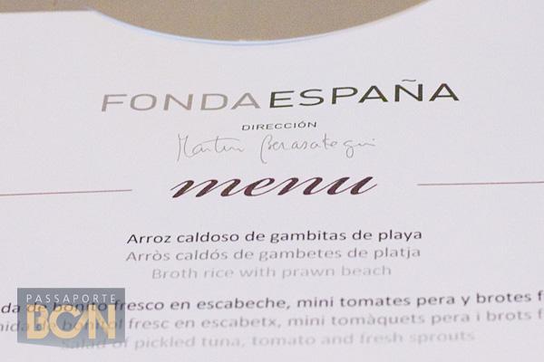 Fonda España, Barcelona