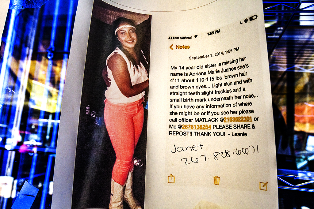 Missing-person-flyer-for-Adriana-Marie-Juanes--Italian-Market
